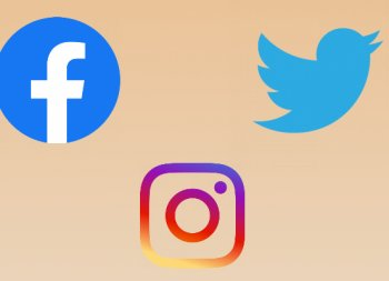 Social Media – Facebook, Twitter & Instagram